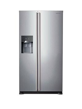 Samsung Rs7567BhcspEu FrostFree AmericanStyle Fridge Freezer With Twin Cooling Plus&Trade System  Silver