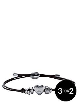fossil-vintage-leather-heart-bracelet