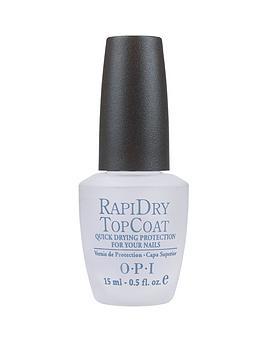 OPI Opi Nail Polish - Rapidry Top Coat 15Ml Picture