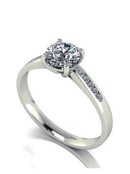 moissanite-18-carat-white-11-carat-solitaire-ring-with-stone-set-shoulders