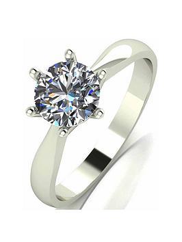 moissanite-9-carat-white-gold-1-carat-solitaire-ring