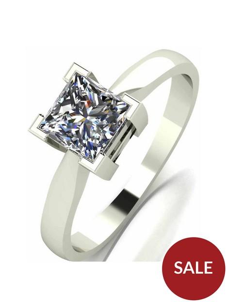 moissanite-9-carat-white-gold-princess-cut-105pt-equivalent-ring