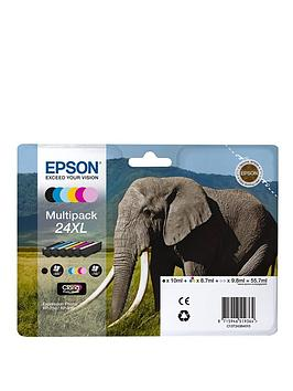 Epson   Claria 24Xl Photo Hd Ink Cartridge - 6 Pack