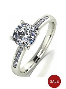 moissanite-9-carat-white-gold-110pt-equivalent-solitaire-ring-with-set-shoulders