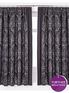 buckingham-lined-pencil-pleat-curtains