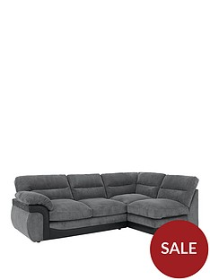 lylanbspfabric-and-faux-leather-right-hand-corner-chaise-sofa