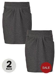 top-class-girls-school-uniform-jersey-tulip-skirts-2-pack