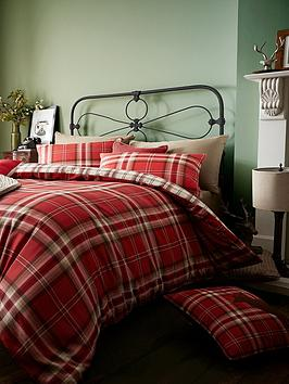 catherine-lansfield-kelso-cotton-rich-duvet-cover-set