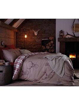 stag-cotton-rich-duvet-cover-set