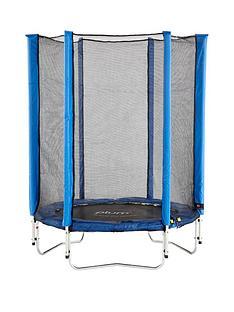 plum-junior-45ft-blue-trampoline-and-enclosure