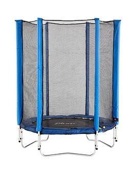 plum-junior-45ft-blue-trampoline-and-enclosure