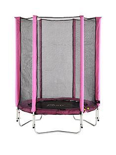 plum-junior-45ft-pink-trampoline-and-enclosure