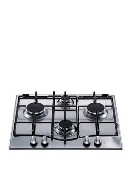 hotpoint-newstyle-gc640ix-60cm-built-in-gas-hob-with-fsd-stainless-steel