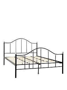 harley-metal-bed-frame-with-mattress-options-buy-and-save