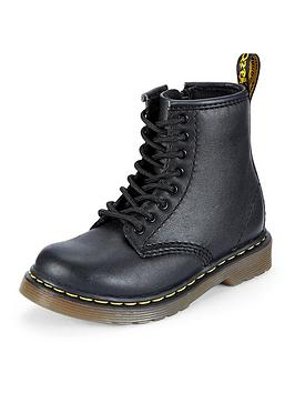 Dr Martens 8175 LaceUp Zip Kids Leather Boots