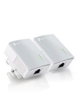 Tp Link Internet Extender TlPa4010Kit Av 600Mbps Nano Powerline Adapter Starter Kit