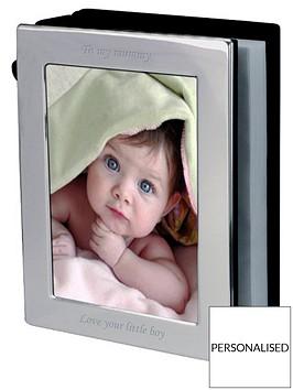 personalised-silver-photo-frame-photo-album