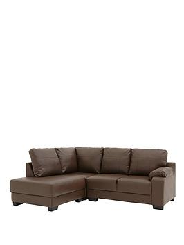 dino-faux-leather-left-hand-corner-chaise-sofa
