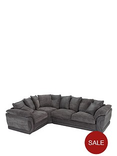 maze-fabric-and-faux-leather-left-hand-corner-group-sofa