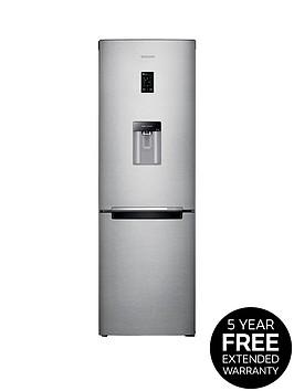 samsung-rb31fdrndsaeu-60cm-frost-free-fridge-freezer-with-digital-inverter-technology-silver