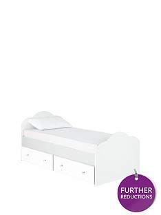 ladybird-rebecca-kids-single-bed-frame-with-optional-mattress