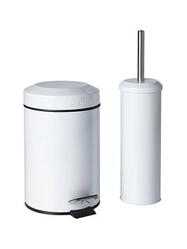 Sabichi Sabichi Bathroom Bin And Brush Set Picture