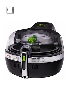 tefal-actifry-2-in-1-yv960140-air-fryer-black-15kg