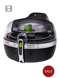 tefal-yv9601-15kg-2-in-1-actifry-low-fat-healthy-fryer-black
