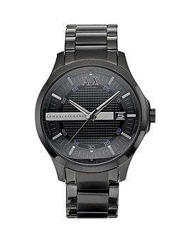 Armani Exchange Armani Exchange Black Ip Mens Watch Picture