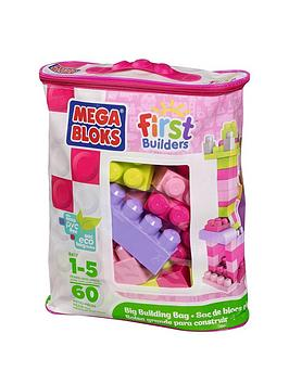 Mega Bloks First Builders 60Piece Bag