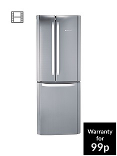hotpoint-day-1-ffu3dx-american-style-70cm-frost-free-fridge-freezer-a-energy-rating-stainless-steel