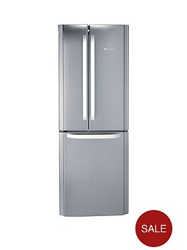 hotpoint-ffu3dx-70cm-frost-free-fridge-freezer-stainless-steel