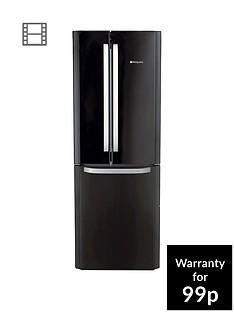 hotpoint-day-1-ffu3dk-american-stylenbsp70cmnbspwide-frost-free-fridge-freezer-a-energy-rating-black