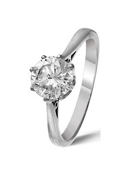 Love DIAMOND Love Diamond 18 Carat White Gold 1 Carat Brilliant Cut  ... Picture