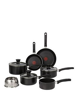 Tefal Delight 7Piece Pan Set  Black