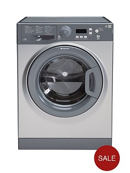 hotpoint-extra-wmxtf842g-8kg-load-1400-spin-washing-machine-graphite