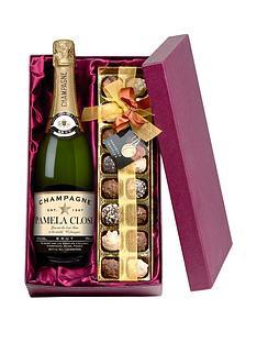 personalised-champagne-chocolates