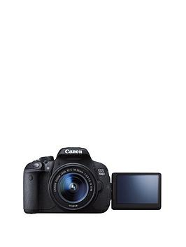 Canon Eos 700D 1855Mm 18 Megapixel Digital Slr Camera With Free 16Gb Memory Card