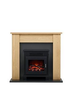 be-modern-craven-oak-electric-fireplace-suite
