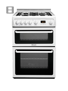 hotpoint-newstylenbsphagl60p-60cm-double-oven-gas-cooker-with-fsd-white