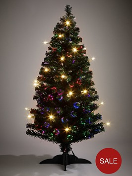 5ft-fibre-optic-christmas-tree-with-led-candles