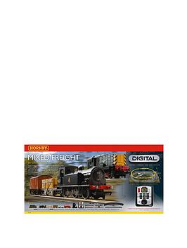 Hornby Train Set  Mixed Freight Digital