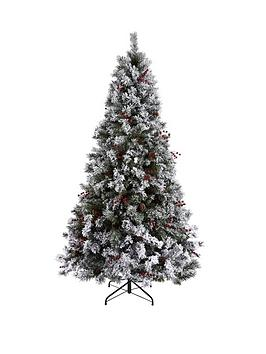 bavarian-pine-christmas-tree-with-snow-7ft