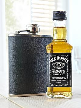 jack-daniels-miniature-whiskey-and-hip-flask-gift-set