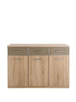 dyplomat-3-door-3-drawer-sideboard