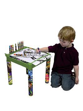 teenage-mutant-ninja-turtles-colouring-table