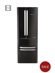 hotpoint-day-1-ffu4dk-american-stylenbsp70cmnbspwide-frost-free-fridge-freezer-anbspenergy-rating-black