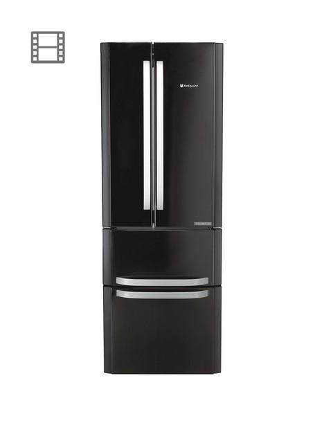 hotpoint-ffu4dk1-american-style-70cm-wide-frost-free-fridge-freezernbsp--black