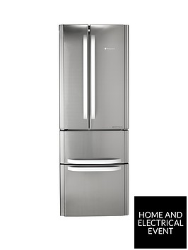 hotpoint-day1-ffu4dx-american-style-70cm-frost-free-fridge-freezer-a-energy-rating-stainless-steel