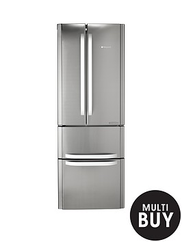 hotpoint-ffu4dx-american-style-70cm-frost-free-fridge-freezer-stainless-steel